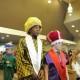 Wisemen entering pageant