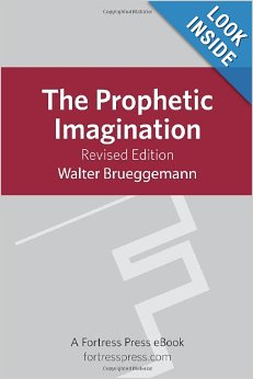 The Prophetic Imagination book cover