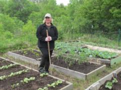 Master Gardener Laurie Linder