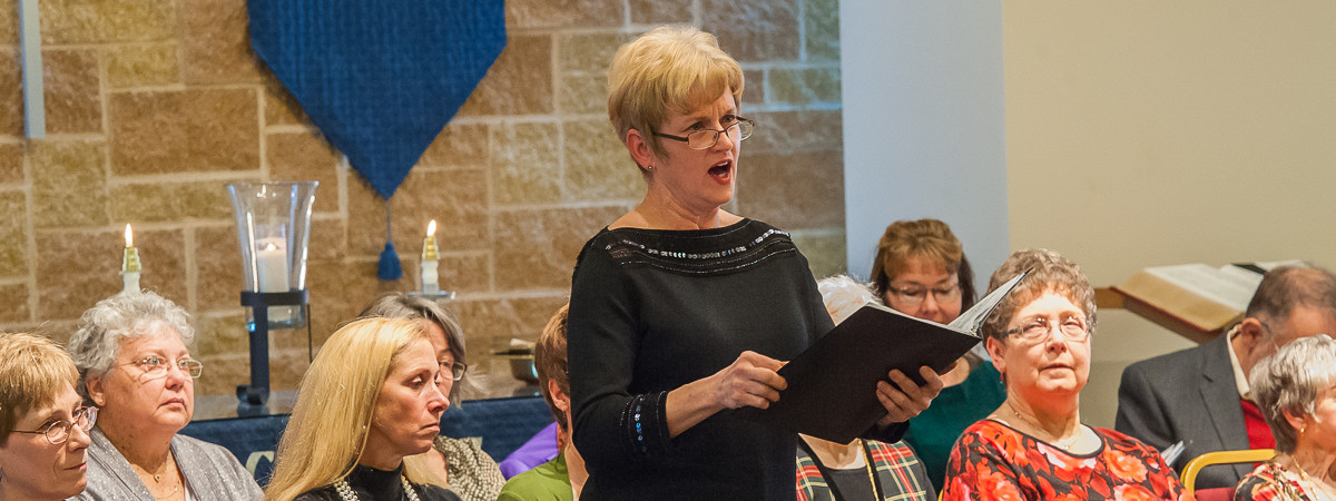 Mary Pat Renaud solo for 2014 Cantata