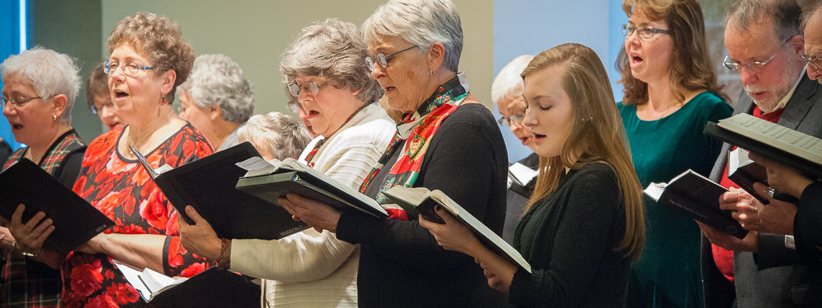 Alto section in 2014 Cantata