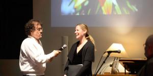 David Hoffman interviewing Wendy