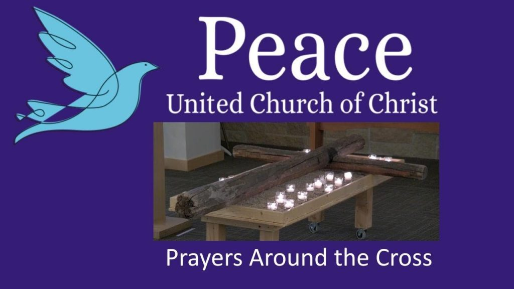 Title slide from video for Prayers Around the cross